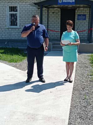 Відкриття пункту поліції Бочечки Конотопський район